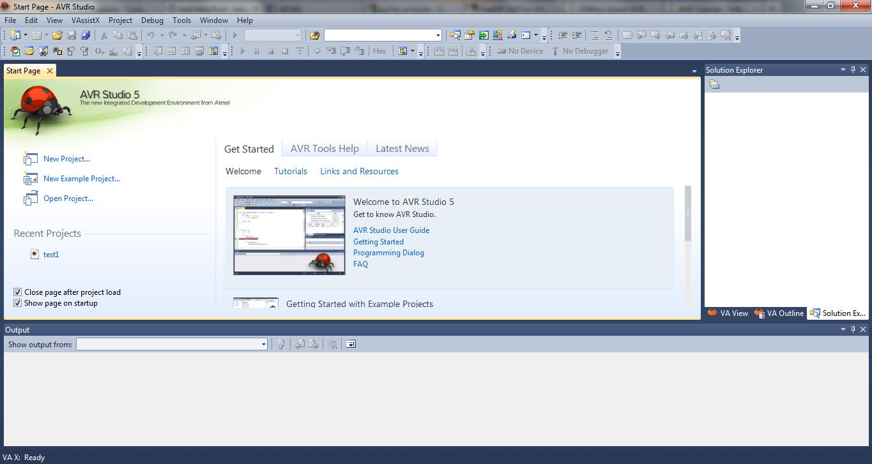 using avr studio 5 maxembedded rh maxembedded com AVR Studio 4 avr studio 5 user manual