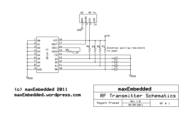 RF Module Interfacing without Microcontrollers » maxEmbedded