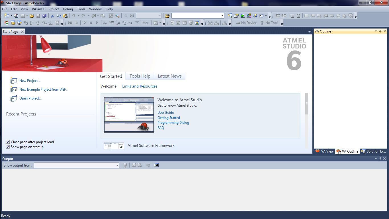 using atmel studio 6 maxembedded rh maxembedded wordpress com atmel studio 6 user guide pdf atmel studio 6 user guide pdf