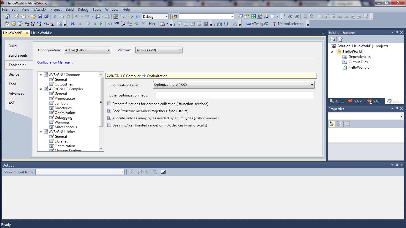 using atmel studio 6 maxembedded rh maxembedded com Studio 6.1 Arduino atmel studio 6 user guide