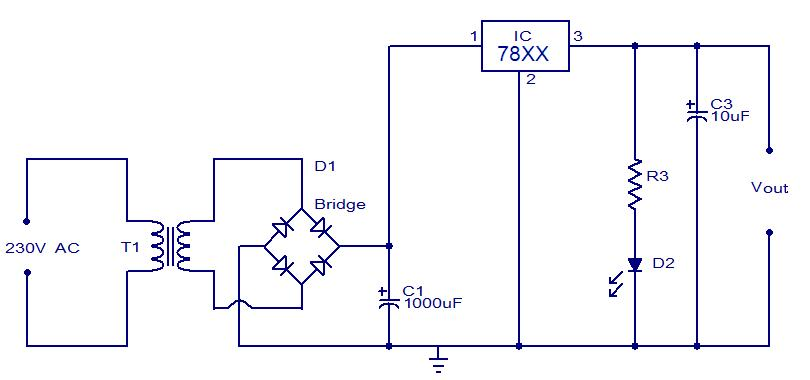 how to build your own power supply maxembeddedDiagram Besides 24v To 12v Dc Converter Circuit Diagram Further 36 #2