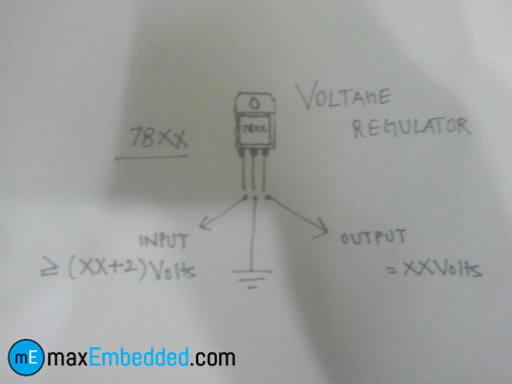 Voltage Regulator Schematic