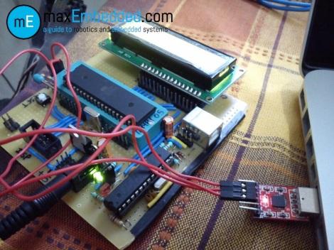 AVR USART Hardware Setup
